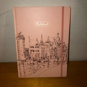 Nwt Think Ink pink gold notebook planner